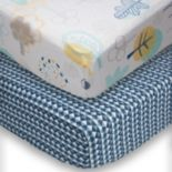 Poppi Living 2-pk. Timberland Fitted Crib Sheet Set