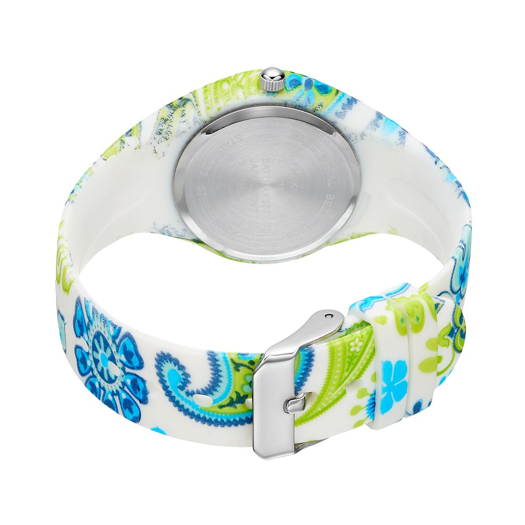 Women's Floral Paisley Watch