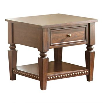 Livonia 1-Drawer End Table