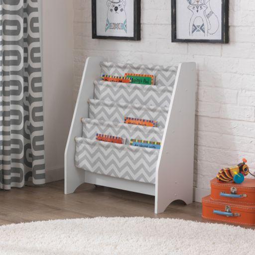 KidKraft White Sling Bookshelf