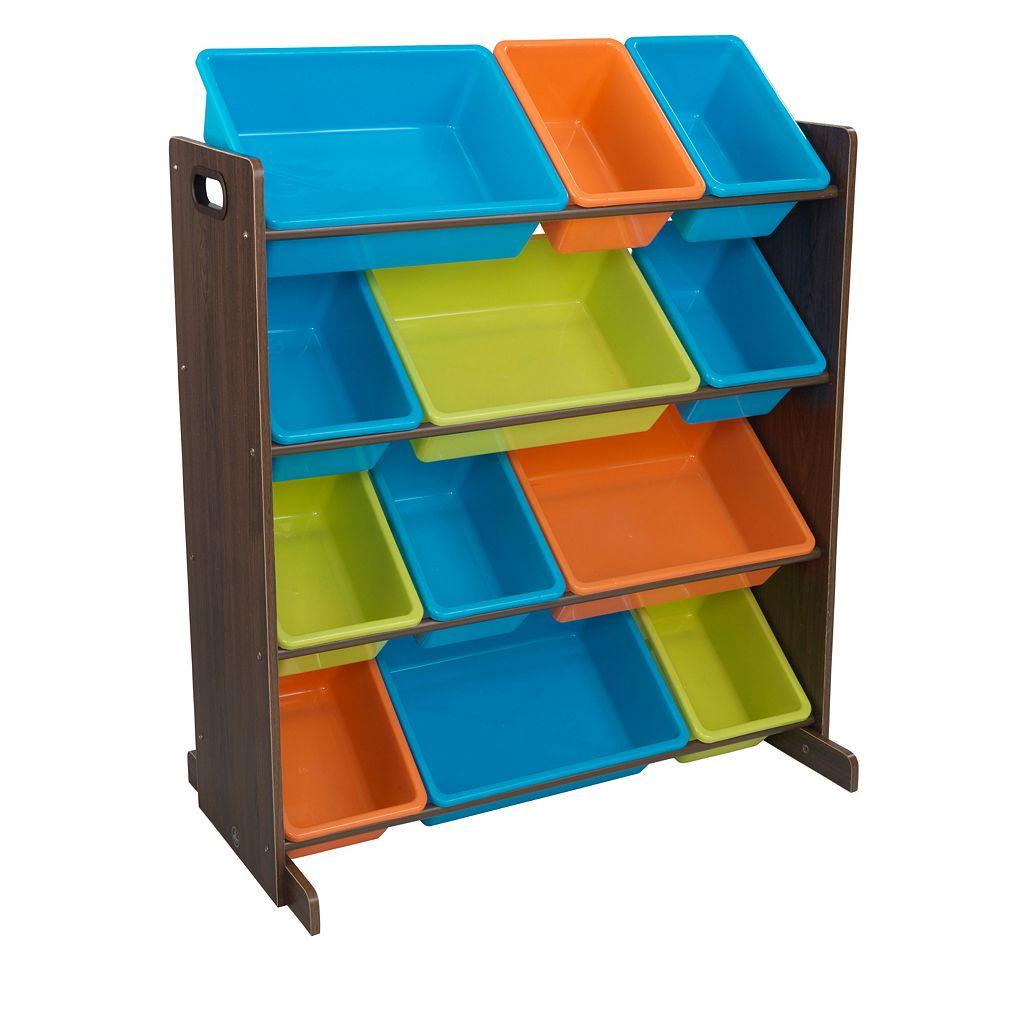 KidKraft Sort & Store It Bin Unit