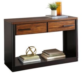 Gale Two-Tone 2-Drawer Sofa Table
