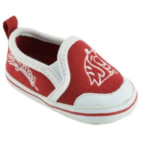Baby Washington State Cougars Crib Shoes