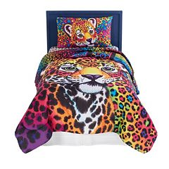 Lisa Frank Wild Side 4 pc Bed Set