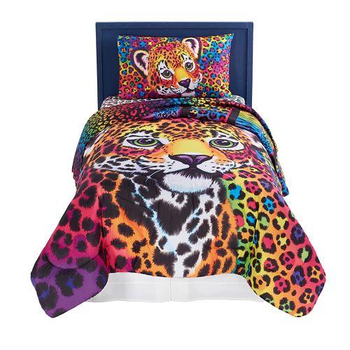 Lisa Frank Wild Side 4-Piece Bed Set