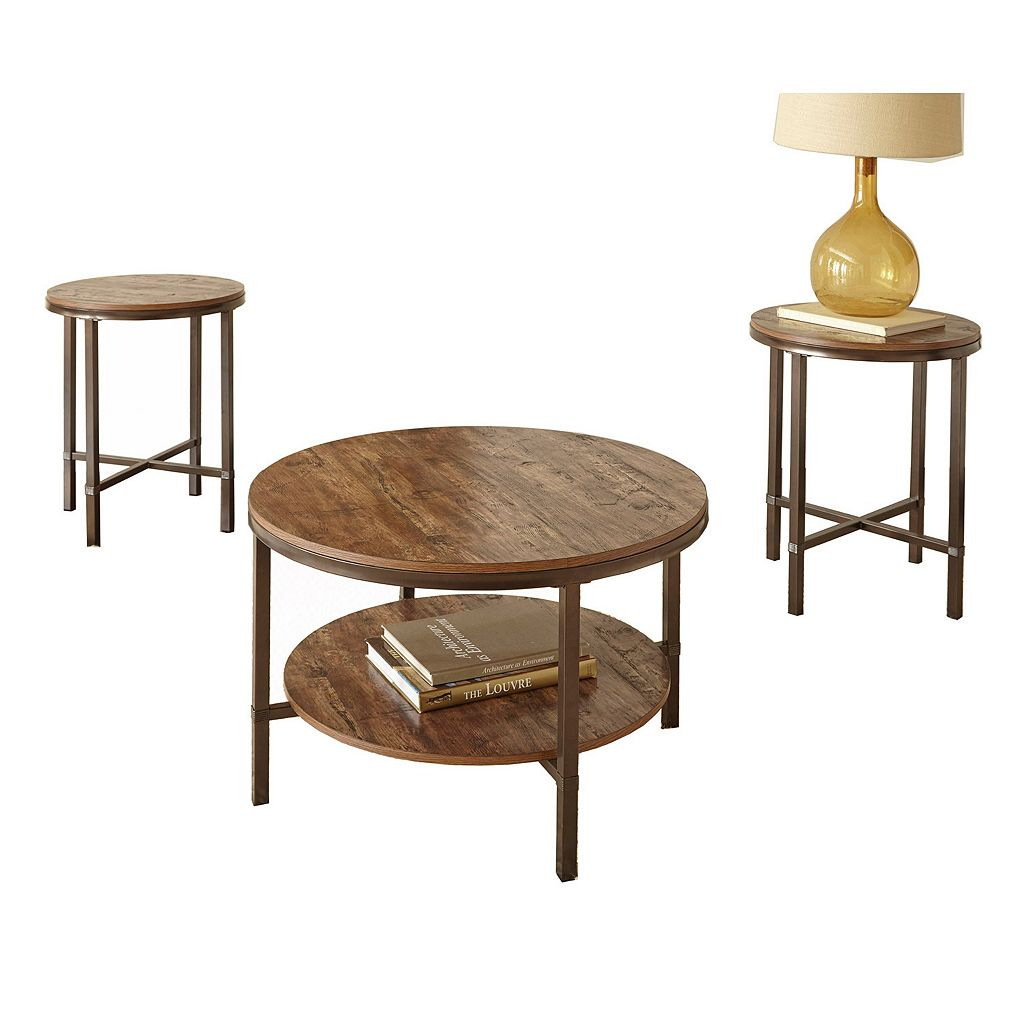 Sedona End Table 3-piece Set