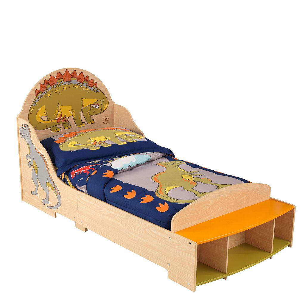 KidKraft Dinosaur Toddler Bed