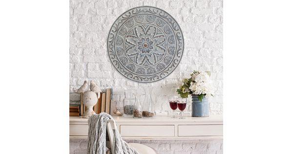 Design Decor Shopping Appstore For: Stratton Home Decor Medallion Metal Wall Decor