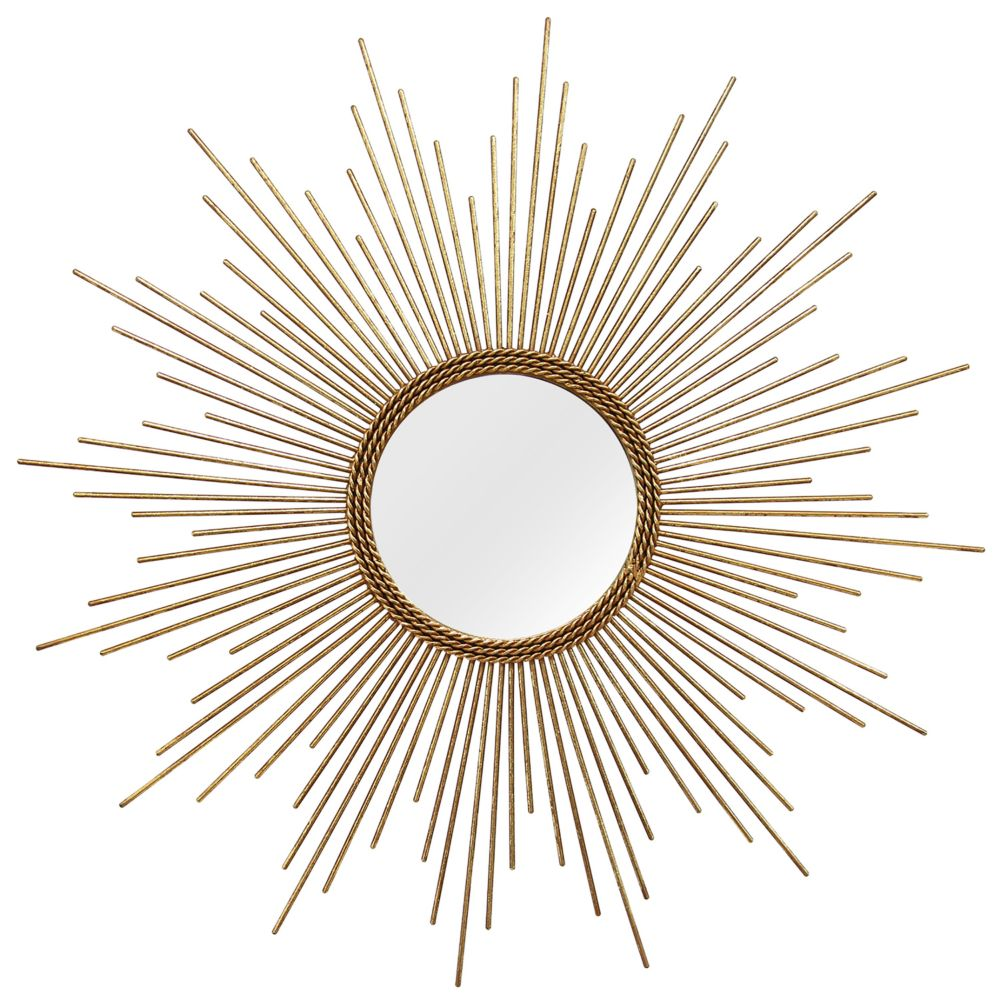 Sunburst Wall Mirror home decor andrea sunburst wall mirror
