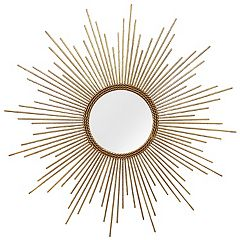 Stratton Home Decor Andrea Sunburst Wall Mirror
