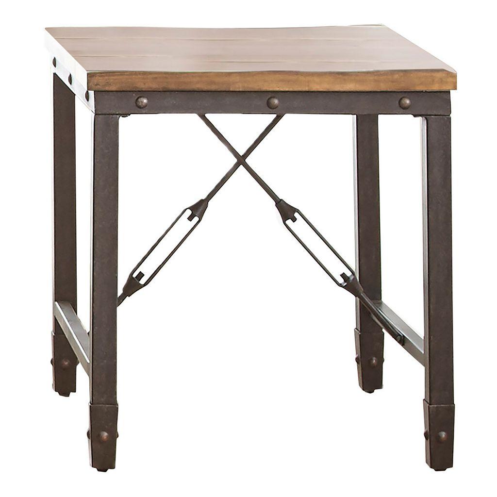 Ashford Industrial End Table