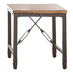 Ashford Industrial End Table