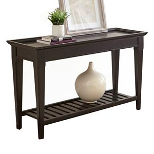 Simpli Home Sawhorse Large Console Table Fashion Design