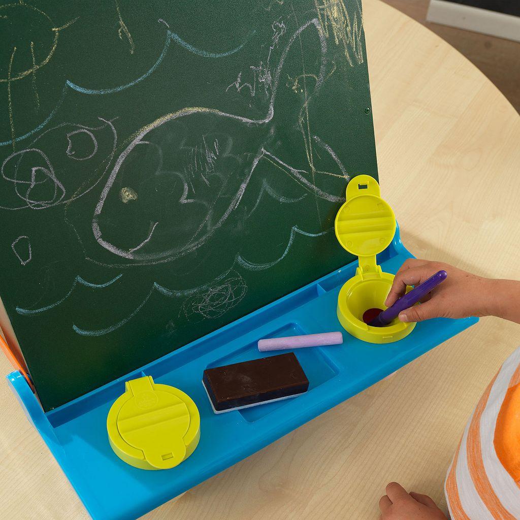 KidKraft Tabletop Chalkboard & Painting Easel