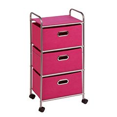 Honey-Can-Do 3 Drawer Storage Cart