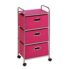 Honey-Can-Do 3 Drawer Storage Cart