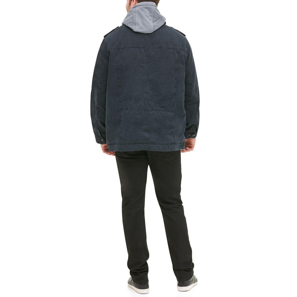 Big & Tall Levi's Hooded Trucker Jacket