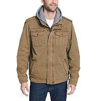 Big & Tall Levi's Hooded Trucker Jacket