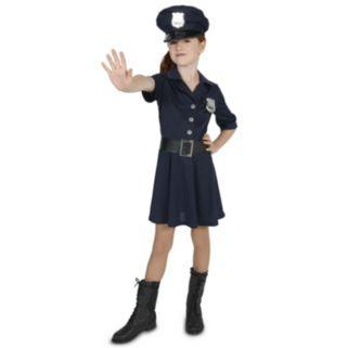 Kids Police Officer Girl Costume