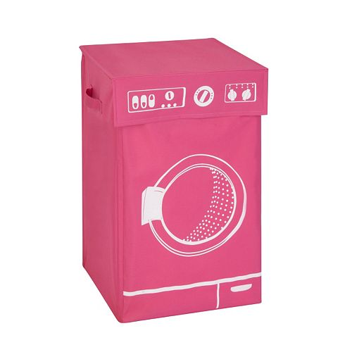 Honey-Can-Do Graphic Washing Machine Hamper With Lid