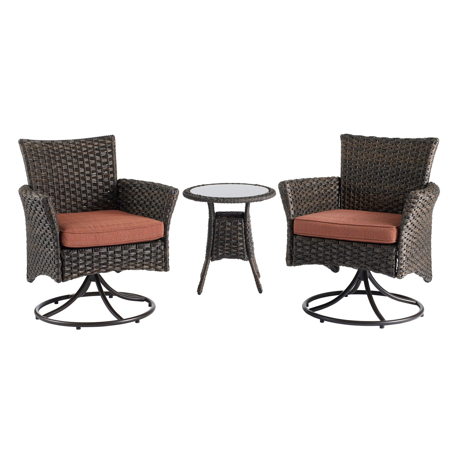 SONOMA Goods For Life™ Biscay Patio Motion Chair U0026 End Table 3 Piece Set