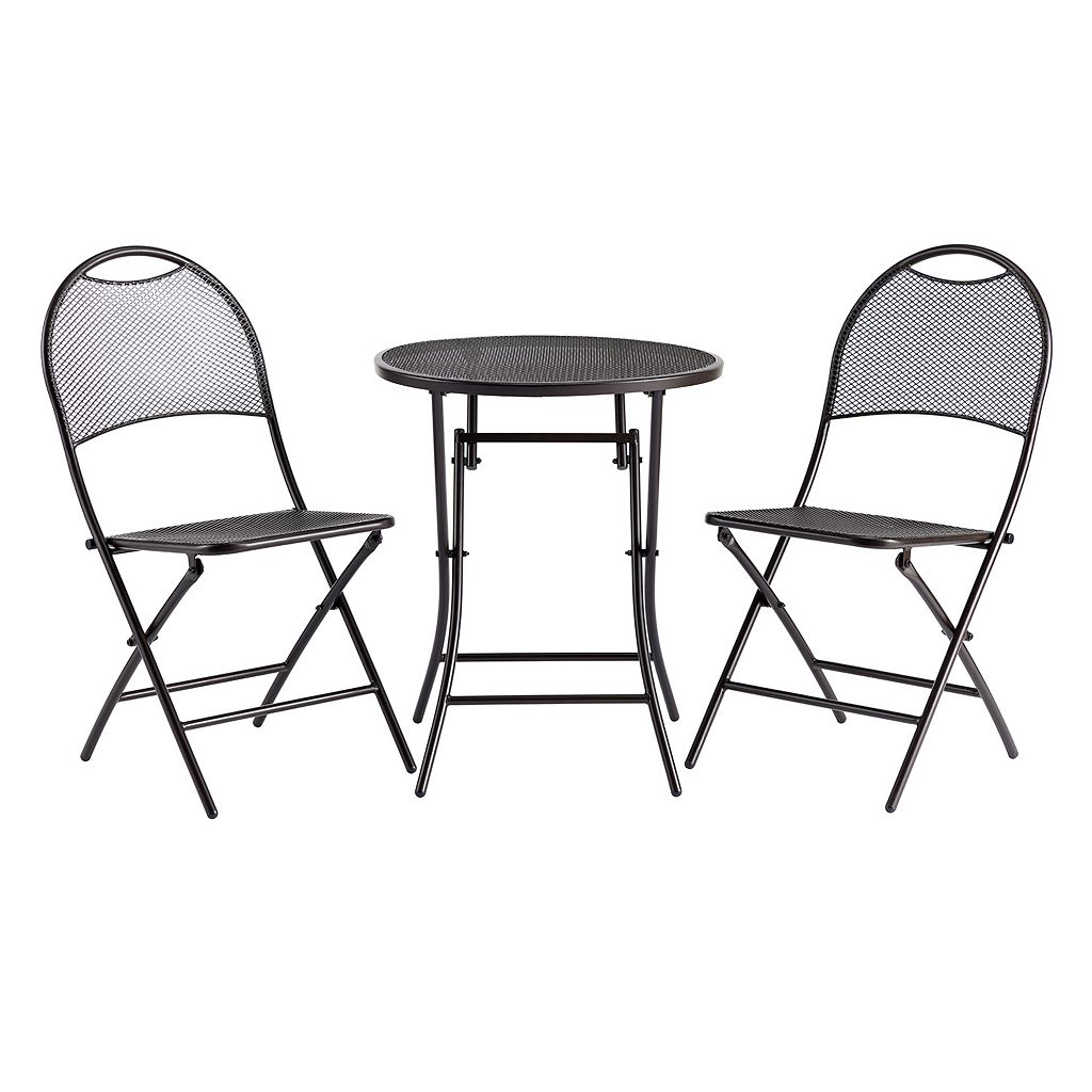 SONOMA Goods for Life™ Folding Bistro Table 3-piece Set