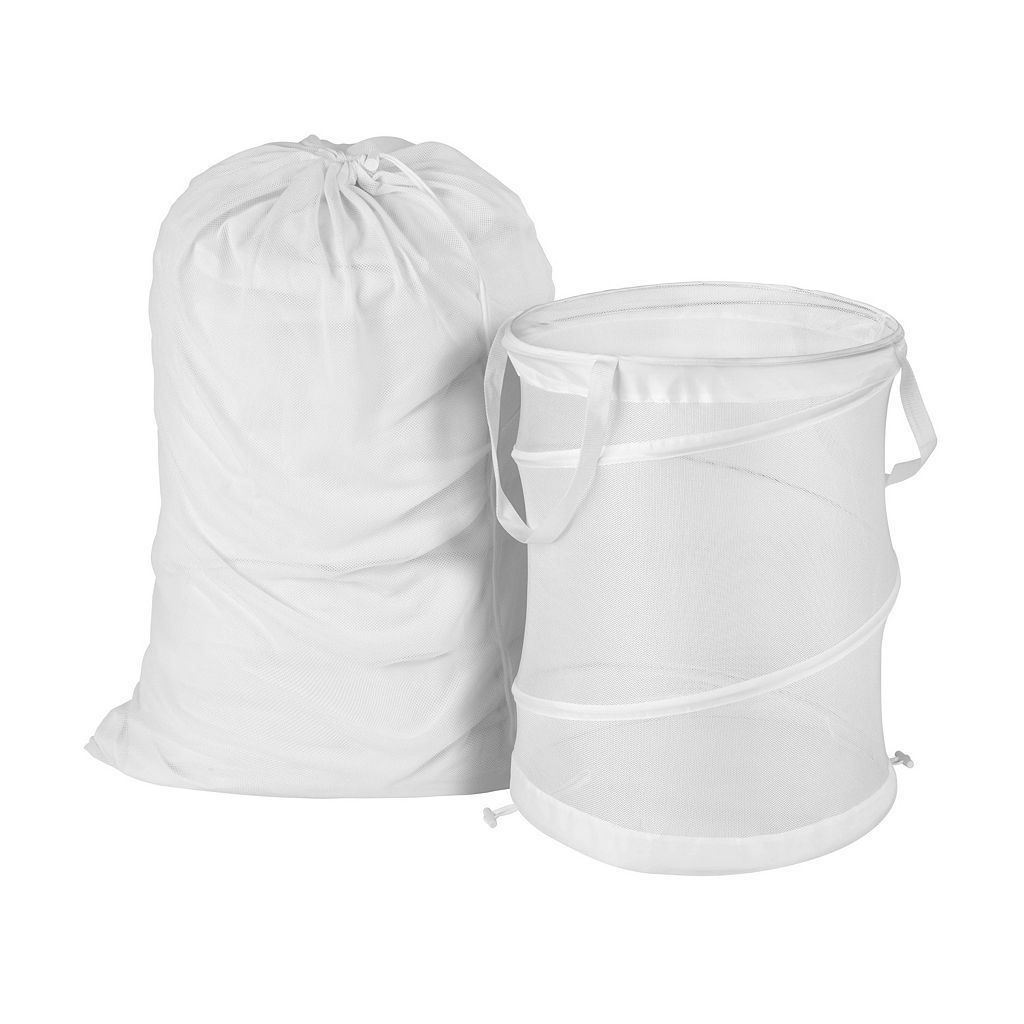Honey-Can-Do Mesh Laundry Bag & Hamper Kit