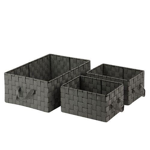 Honey-Can-Do 3-piece Woven Basket Set