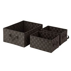 Honey-Can-Do 3-piece Woven Basket Set
