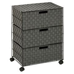 Honey-Can-Do 3 Drawer Wheeled Chest