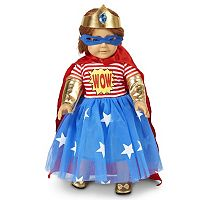 Pop Art Comic Superhero Girl 18-in. Doll Clothes