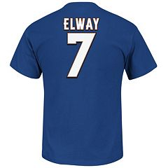 Big & Tall Majestic Denver Broncos John Elway Hall of Fame Eligible Receiver Tee