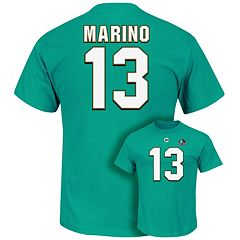 Big & Tall Majestic Miami Dolphins Dan Marino Hall of Fame Eligible Receiver Tee