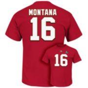 Big & Tall Majestic San Francisco 49ers Joe Montana Hall of Fame Eligible Receiver Tee