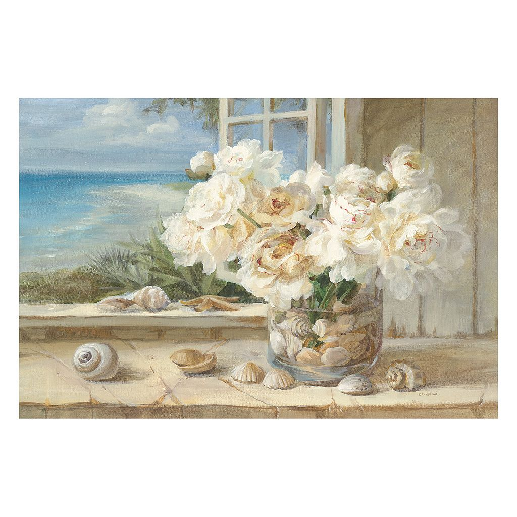 Artissimo By The Sea Canvas Wall Art