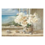 Artissimo By The Sea Canvas Wall Art