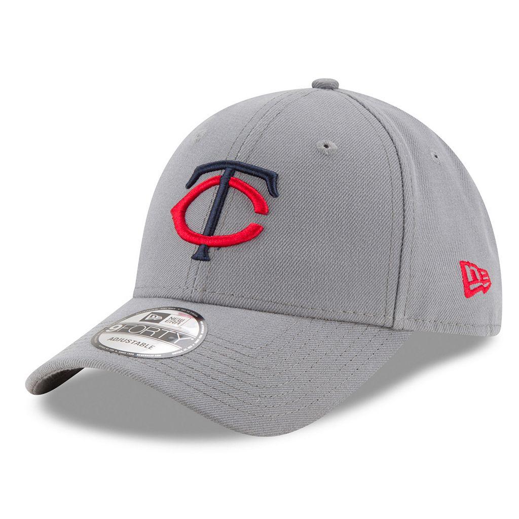 Adult New Era Minnesota Twins 9FORTY The League Storm Adjustable Cap