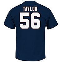 Big & Tall Majestic New York Giants Lawrence Taylor Hall of Fame Eligible Receiver Tee