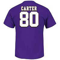 Big & Tall Majestic Minnesota Vikings Cris Carter Hall of Fame Eligible Receiver Tee