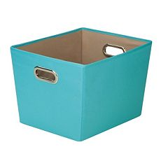 Honey-Can-Do Decorative Storage Bin With Handles