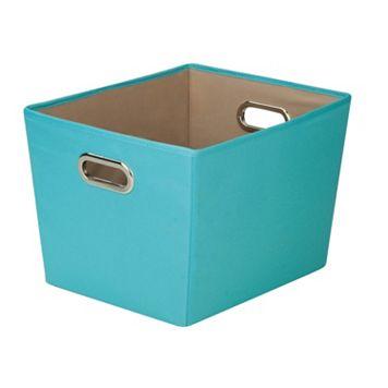Honey-Can-Do Decorative Storage Bin With Handles