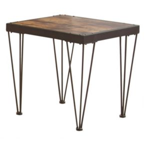 Edison Rustic End Table