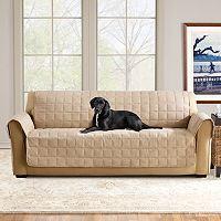 Sure Fit Ultimate Waterproof Suede Sofa Cover