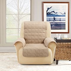 Sure Fit Ultimate Waterproof Suede Recliner/Wing Cover
