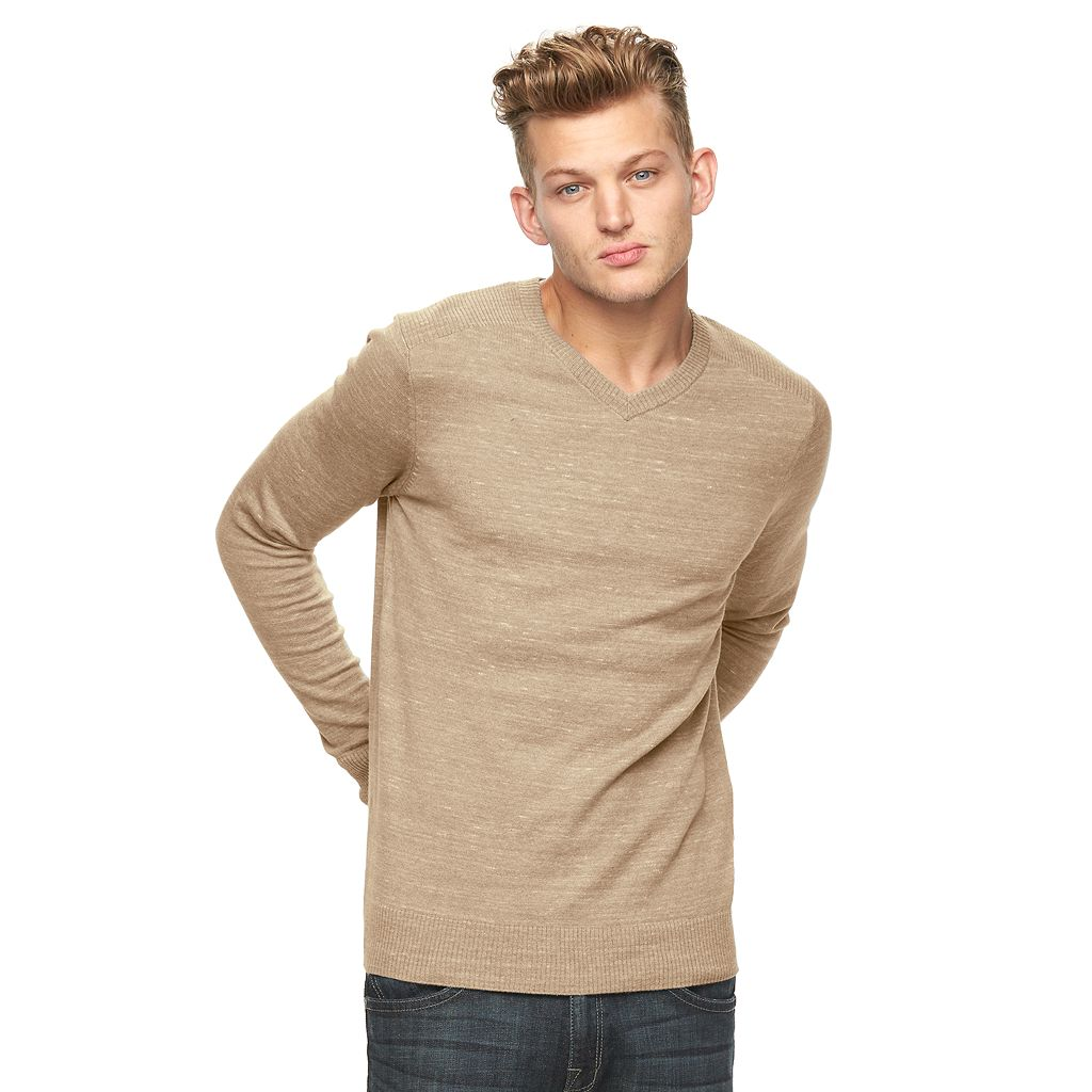 Men's Rock & Republic V-Neck Sweater