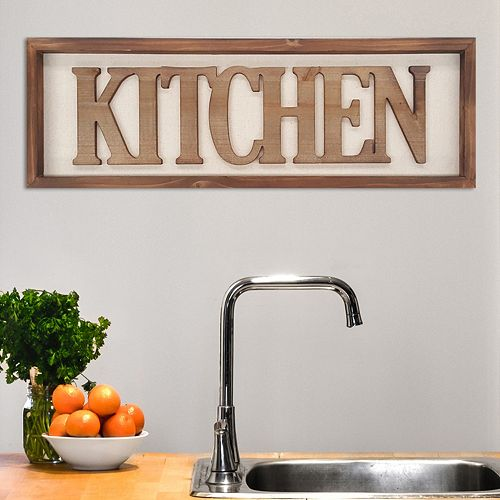 "Kitchen Decor Stores: Stratton Home Decor ""Kitchen"" Wall Art"