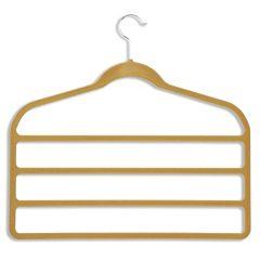 Honey-Can-Do 10-pack Velvet Touch Pant Hanger