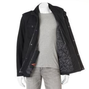 Big & Tall Dockers Wool-Blend 4-Pocket Military Jacket