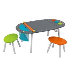 KidKraft Chalkboard Art Table & Stool 3 pc Set