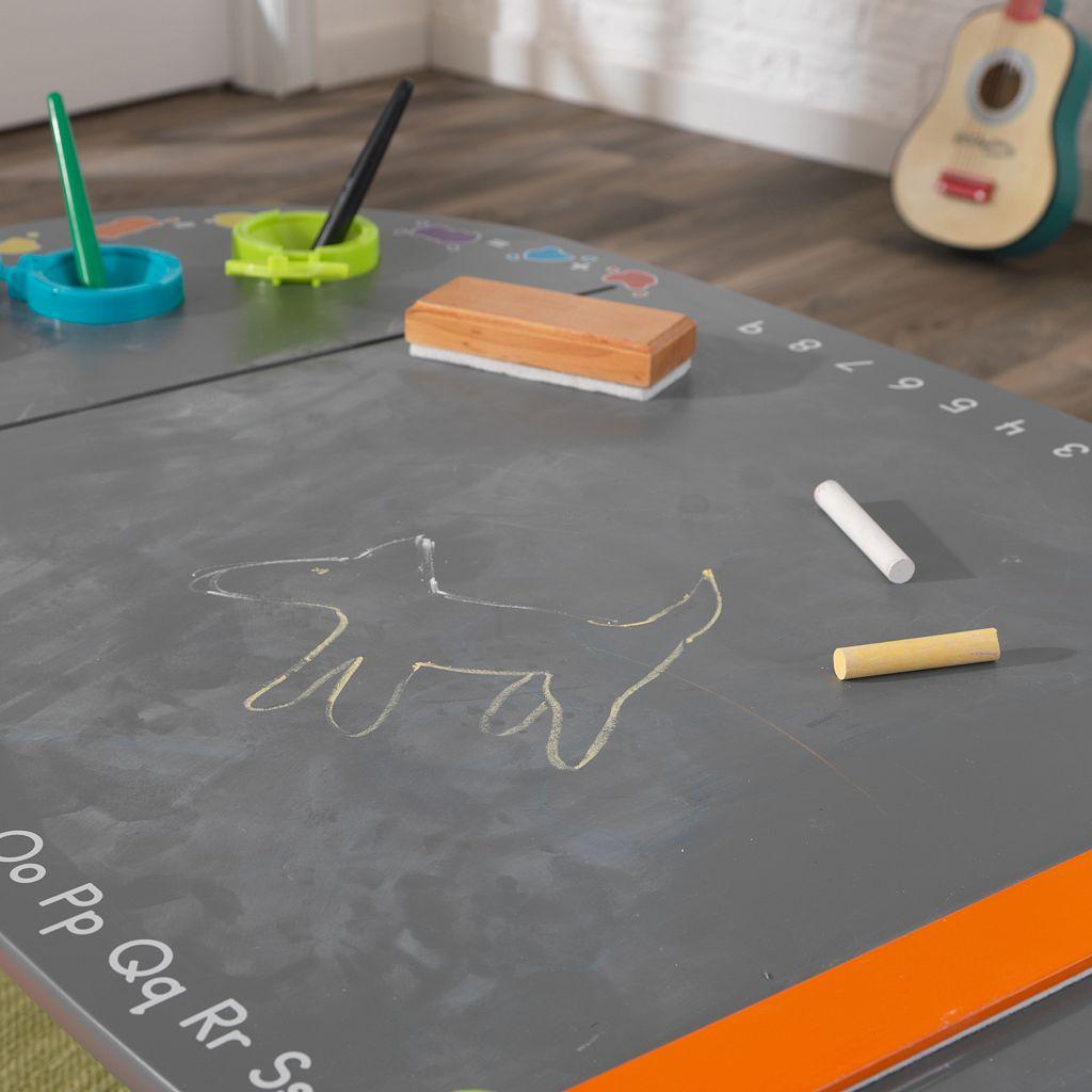 KidKraft Chalkboard Art Table & Stool 3-piece Set